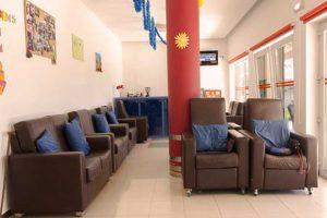 Sala de convívio do Lar O Pinhal
